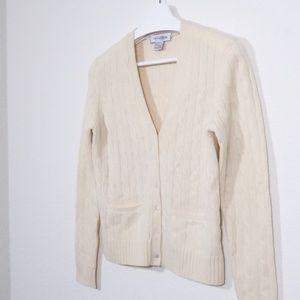 Brooks Brothers Wool Cashmere Cardigan Career